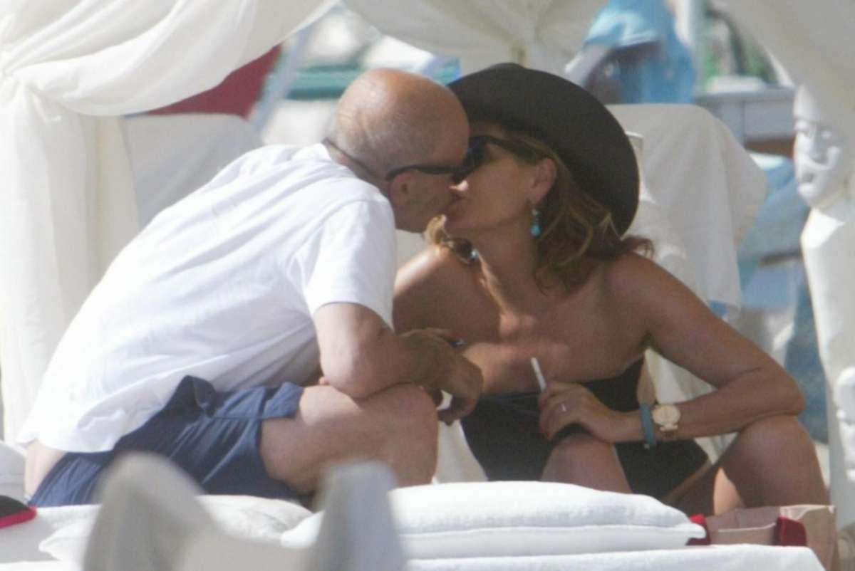 Daniela Santanchè e Alessandro Sallusti: relax a Forte dei Marmi