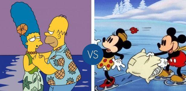 Coppie famose dei cartoni animati: qual è la tua preferita?