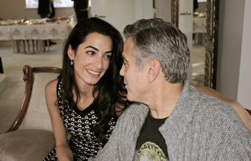 George Clooney si sposa con Amal Alamuddin: l'attore conferma il matrimonio in Italia