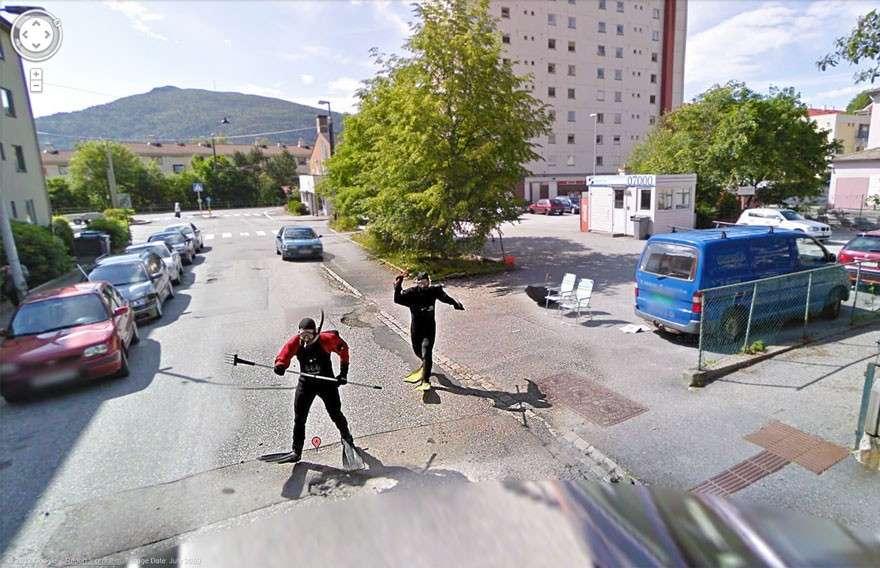 Google Maps: foto divertenti nascoste su Street View