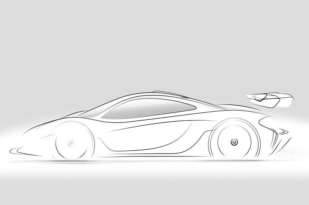 McLaren P1 GTR: anticipazione della pistaiola inglese