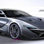McLaren P15: render della futura supercar inglese