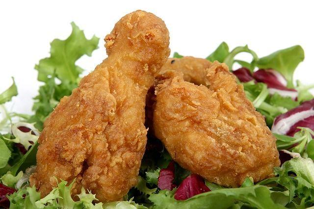 pollo cibi caldo