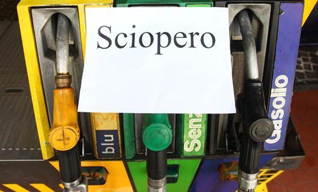 Sciopero benzinai dal 14 al 19 giugno 2014
