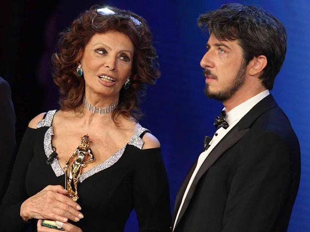 Paolo Ruffini ai David di Donatello 2014: gaffe con Sophia Loren, Bellocchio, Virzì e Sorrentino