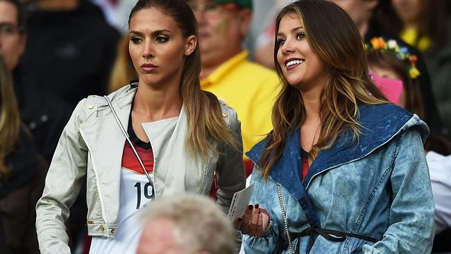 Finale Mondiali 2014: le wags di Germania-Argentina