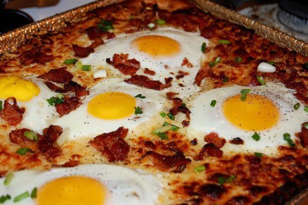 1 Pizza Colazione americana