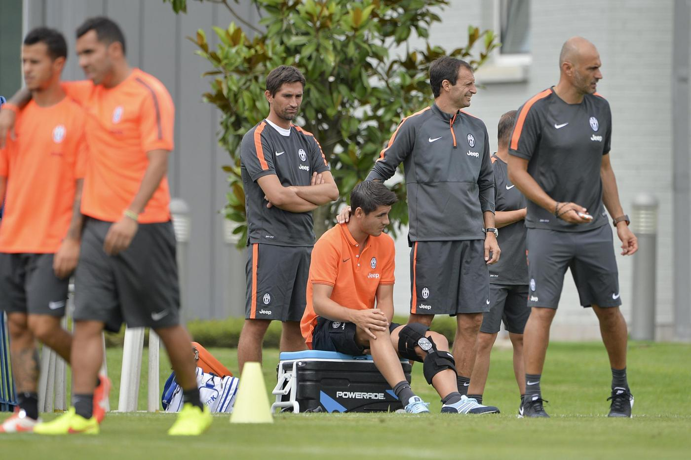 Morata Juventus: infortunio al ginocchio, fuori 2 mesi
