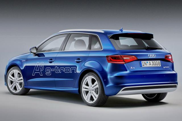 Audi A3 Sportback G Tron posteriore