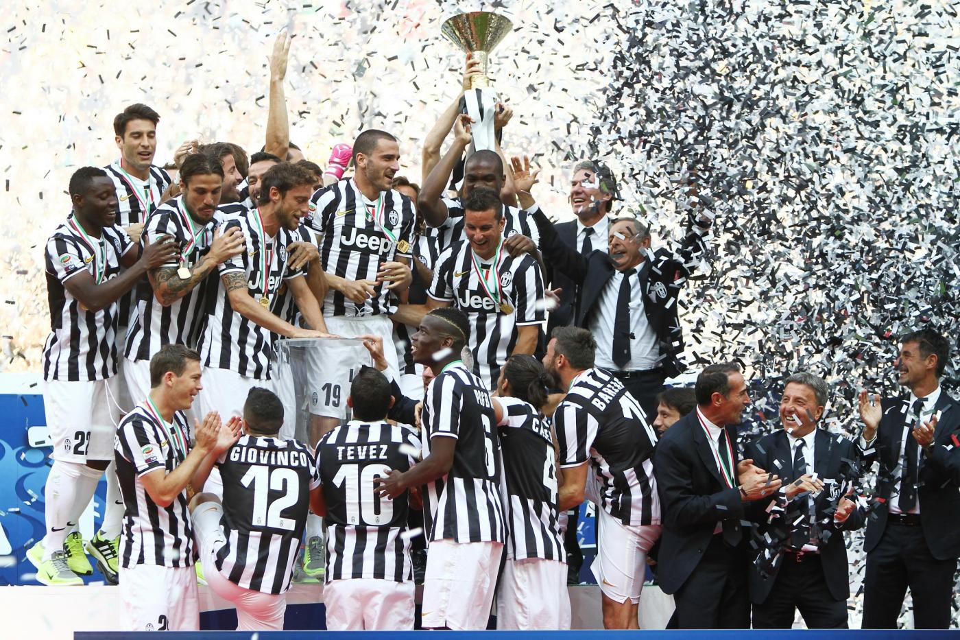 Calendario Juventus 2014/2015: tutte le partite di campionato dei bianconeri