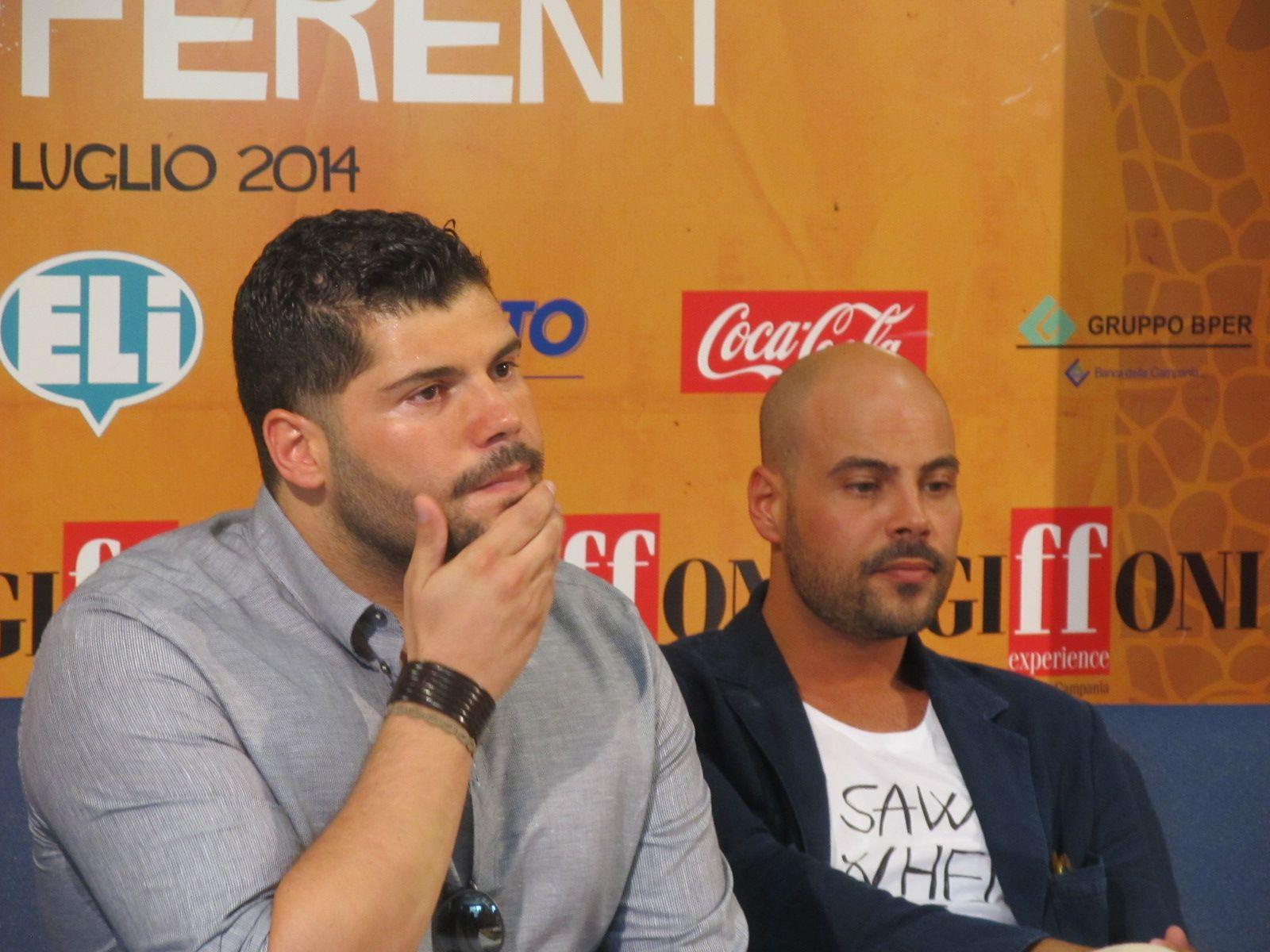 Marco D'Amore e Salvatore Esposito, da Gomorra – la serie al Giffoni Film Festival 2014
