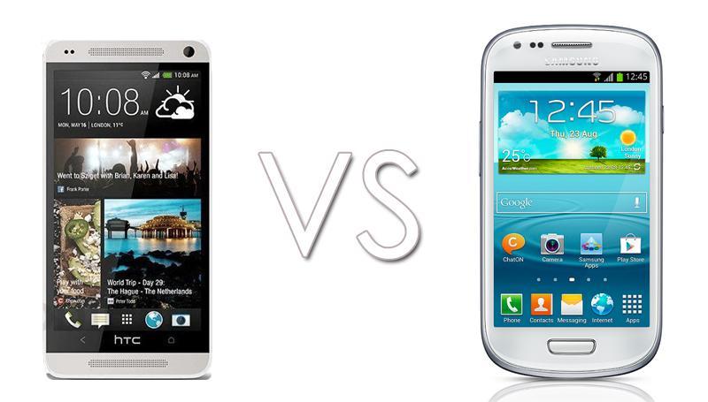 HTC vs Samsung Mini