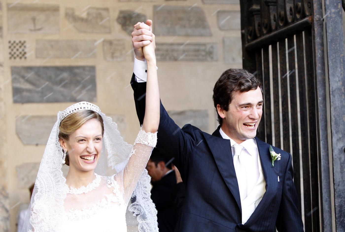 I reali del Belgio sposi a Roma: nozze italiane per Amedeo d'Asburgo-Este ed Elisabetta Rosboch Von Wolkenstein