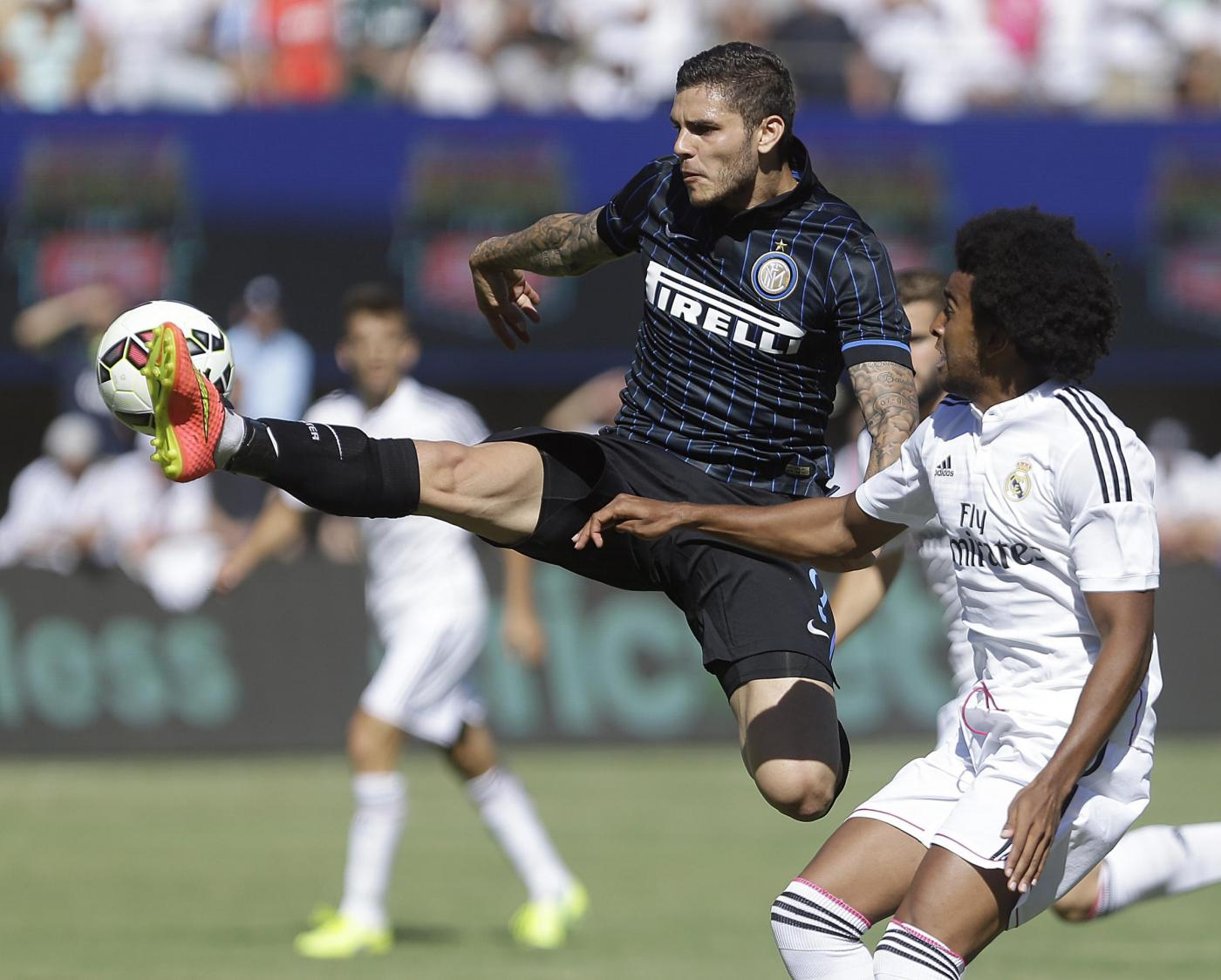 Inter batte Real Madrid 4-3 ai rigori nella Guinness Cup