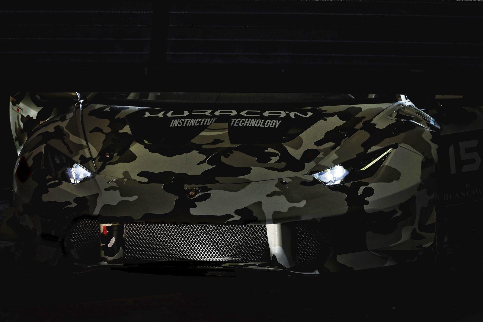 Lamborghini Huracàn LP610-4 Super Trofeo: teaser della corsaiola