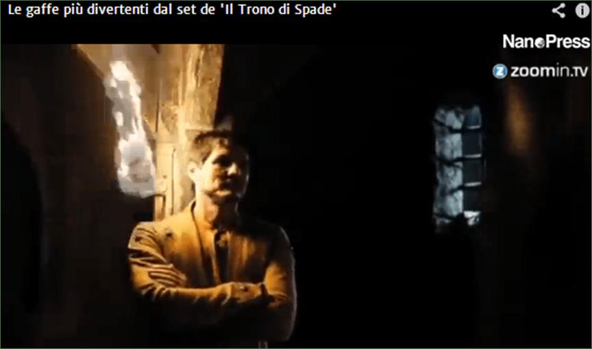 Game of Thrones 5 stagione, anticipazioni choc ma cast da ridere: ecco le gaffe sul set