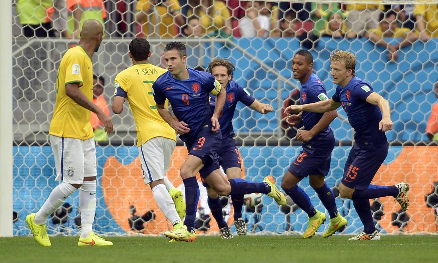 Mondiali 2014, Olanda vs Brasile 3-0: la figuraccia finale dei verdeoro