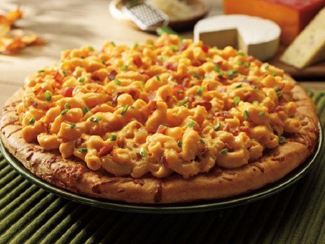 Pizza alla pasta