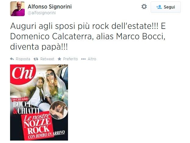 Tweet Signorini