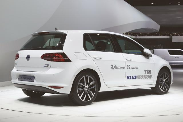 Volkswagen Golf TGI posteriore
