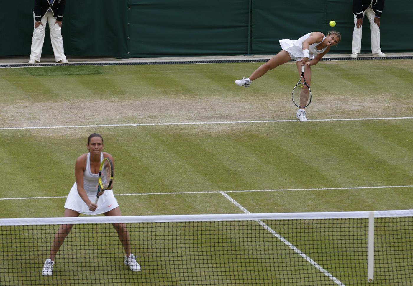 Wimbledon 2014 Errani Vinci