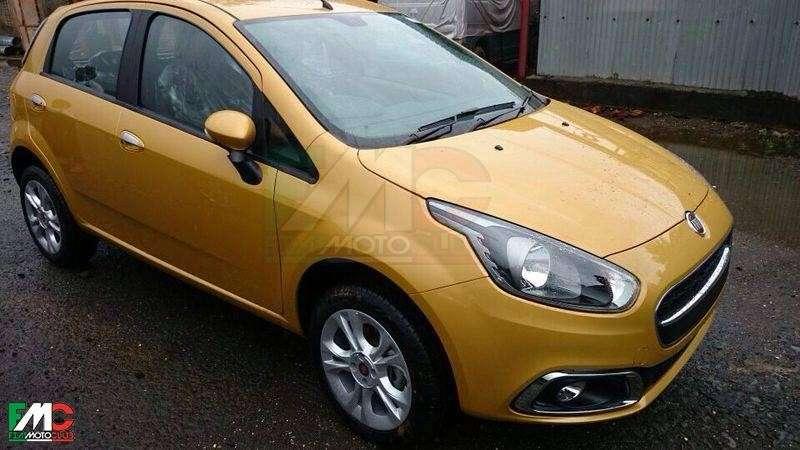 Fiat Punto restyling: prime foto spia del nuovo modello