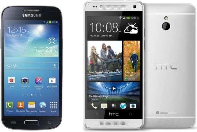 HTC One Mini vs Samsung Galaxy S4 Mini: confronto-scontro