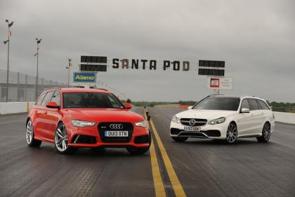 Audi RS6 Avant vs Mercedes E 63 AMG SW: confronto tra super station wagon
