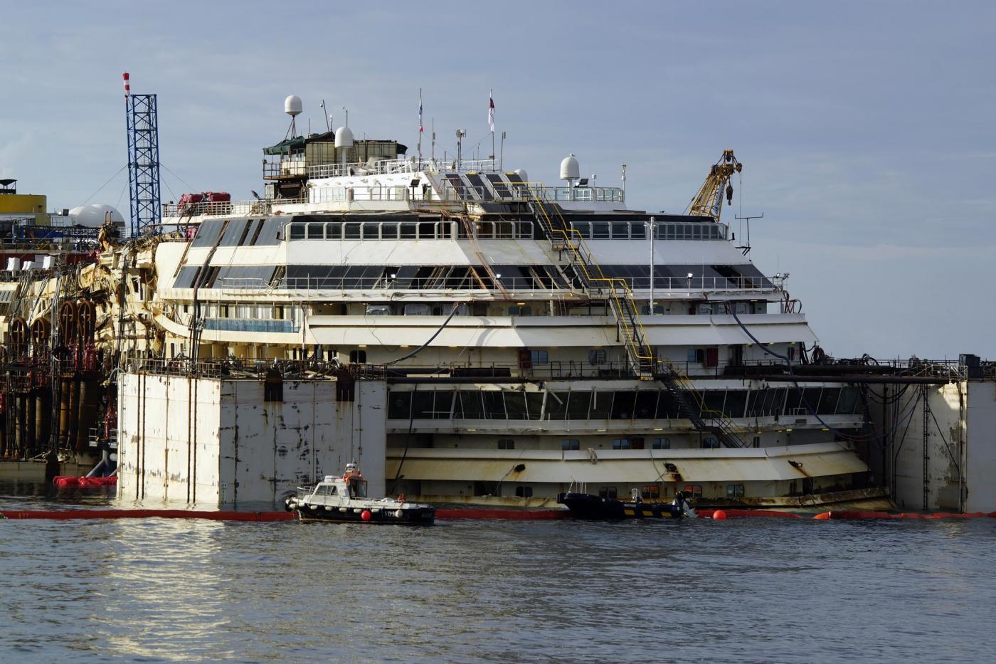 recupero Costa Concordia