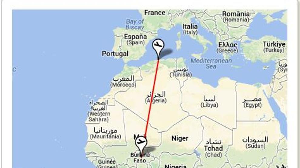 Aereo caduto oggi in Niger: a bordo 116 persone