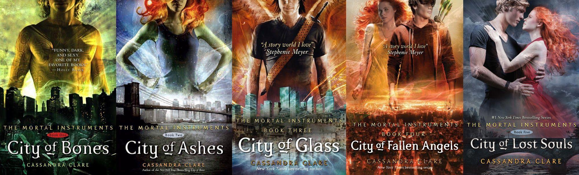 Shadowhunters, i libri della saga urban fantasy di Cassandra Clare