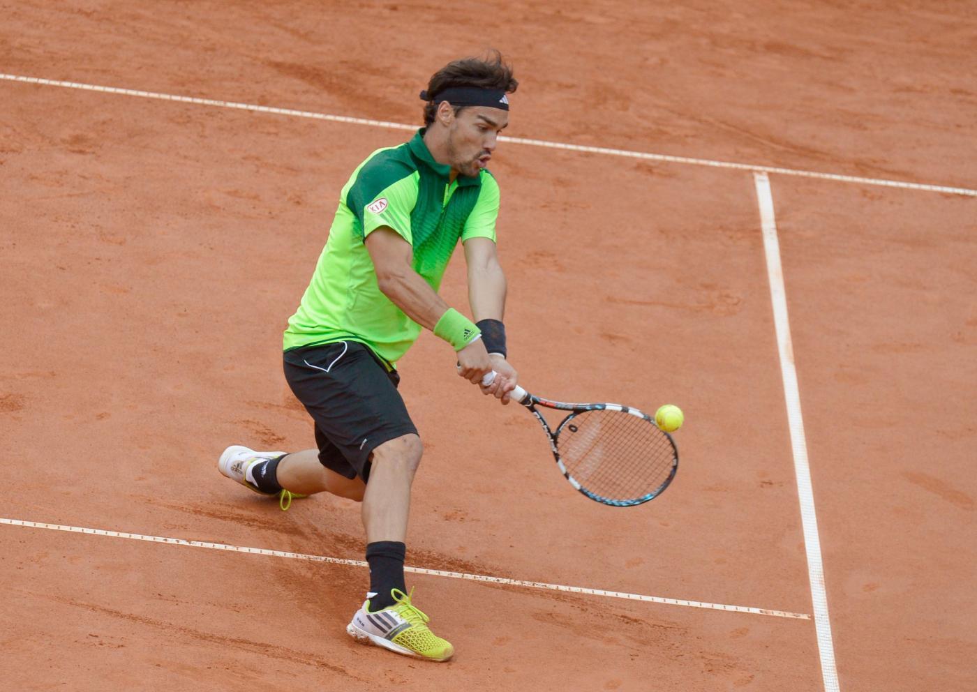 """Tennis, Fognini insulta Krajinovic: """"Zingaro di m…."""""""
