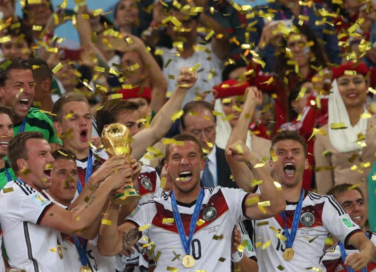 Mondiali 2014: i gesti di esultanza dei calciatori