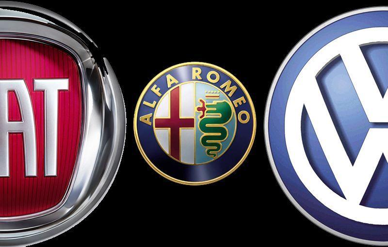 Volkswagen-Fiat: smentite le voci sulla fusione