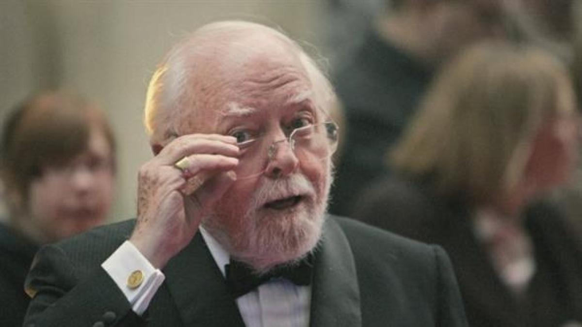 Morto Richard Attenborough il premio Oscar per Ghandi aveva 90 anni