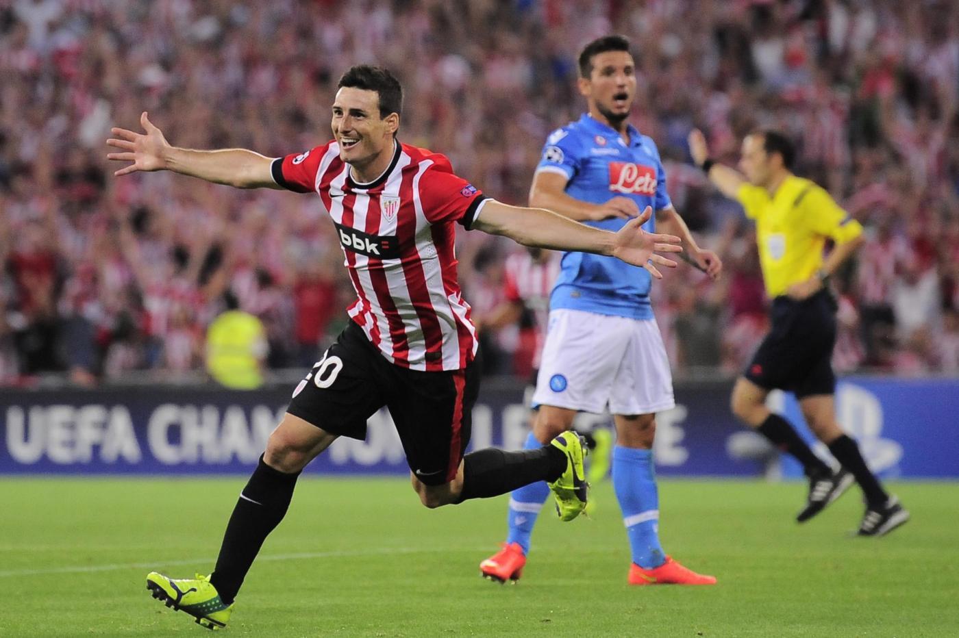 Athletic Bilbao vs Napoli 3-1: azzurri fuori dalla Champions