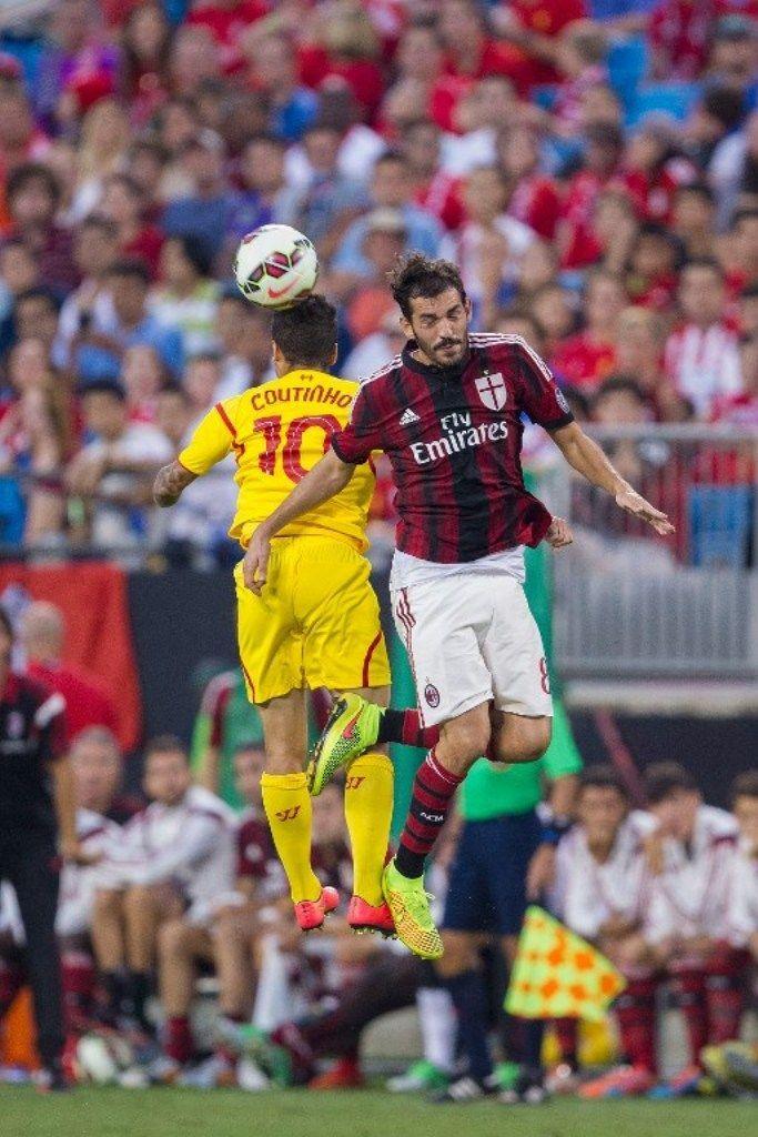 Milan vs Liverpool 0-2: i rossoneri ancora sconfitti