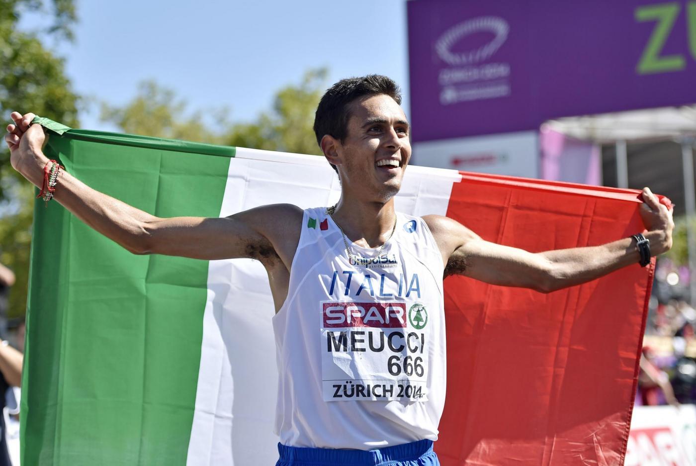 Europei Atletica 2014: Daniele Meucci oro nella maratona
