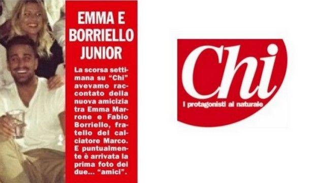 Emma e Fabio Borriello