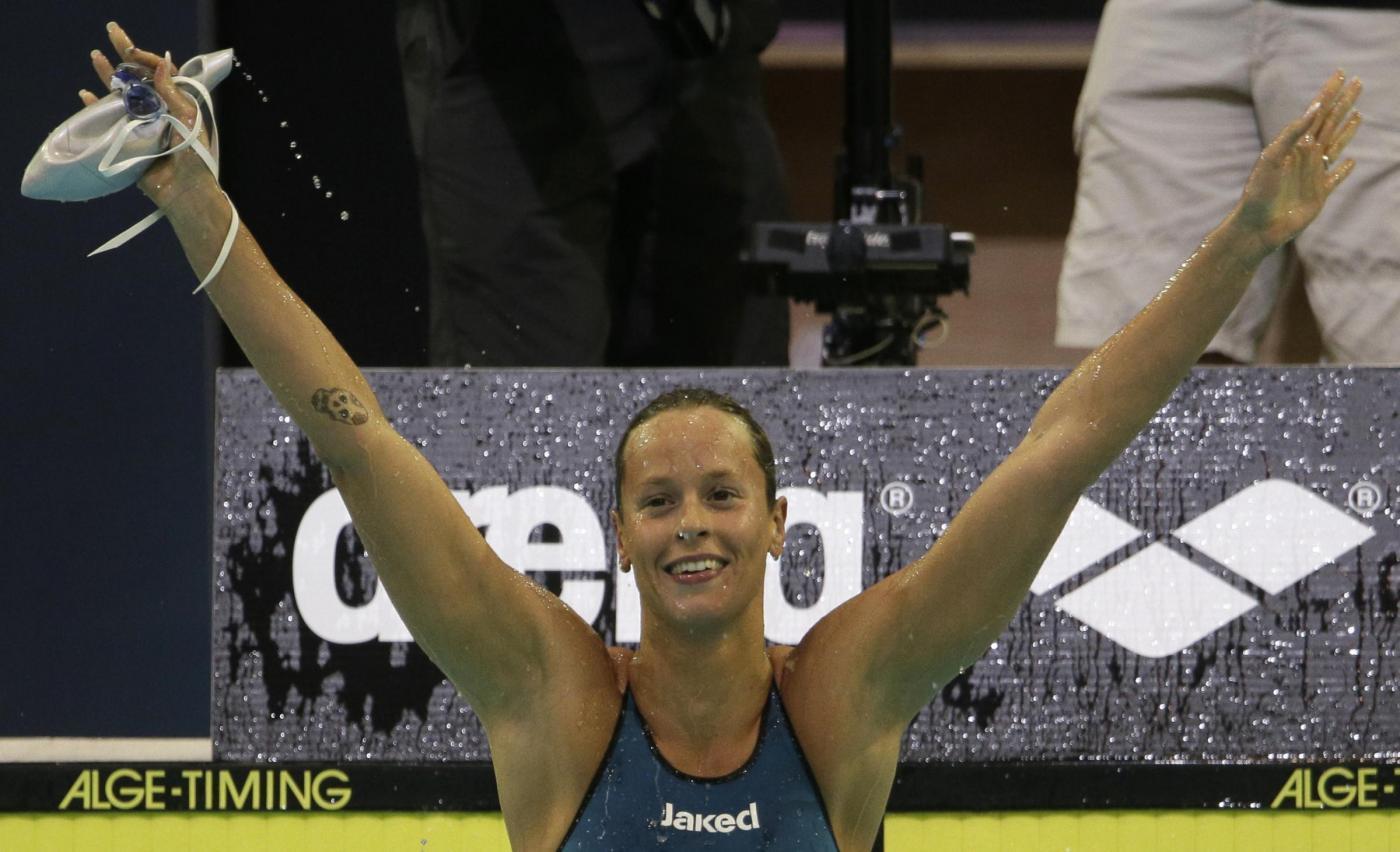 Europei Nuoto: Federica Pellegrini terzo oro di fila sui 200 sl