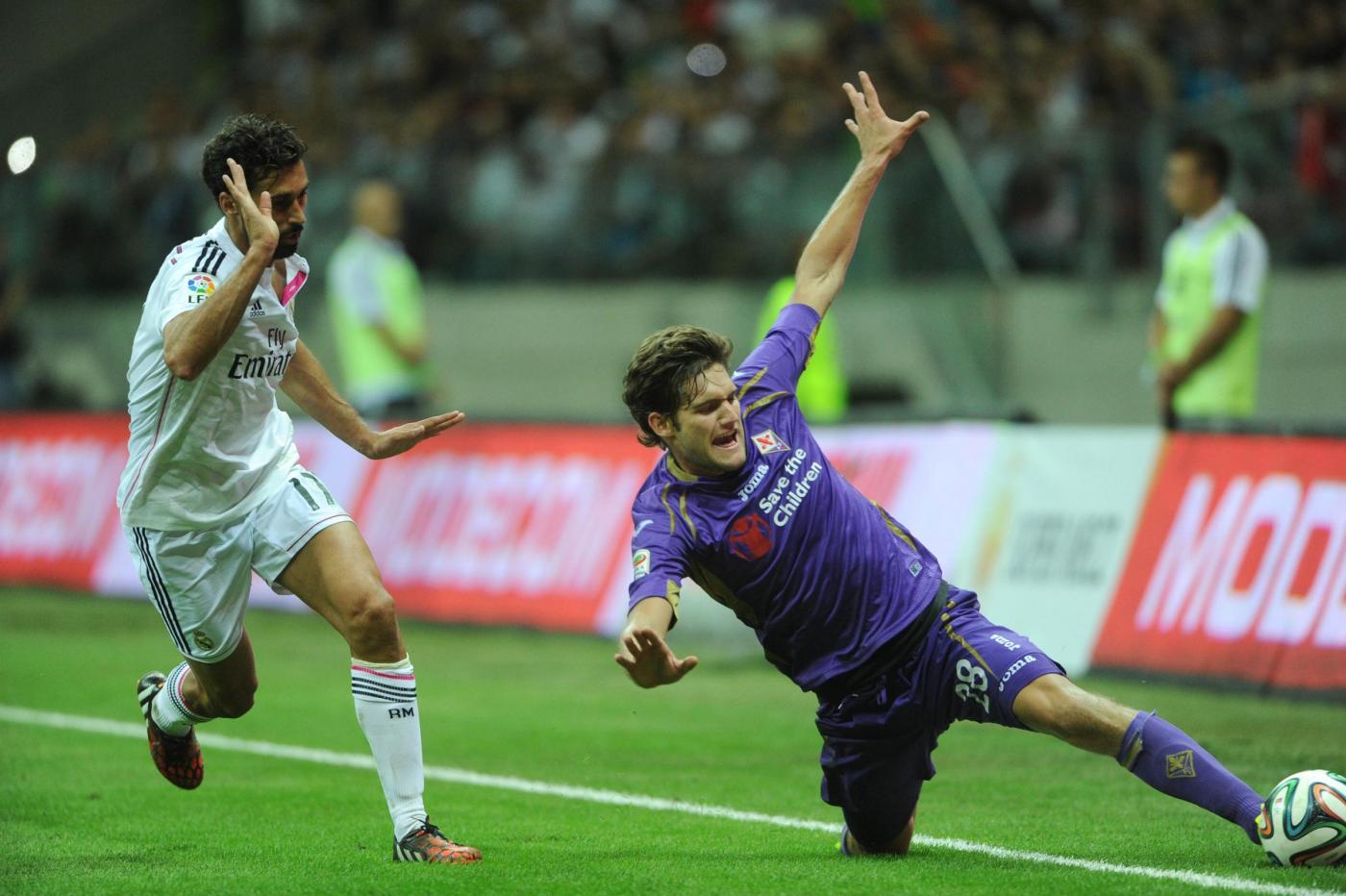 Fiorentina batte Real Madrid 2-1: vittoria in rimonta per Montella