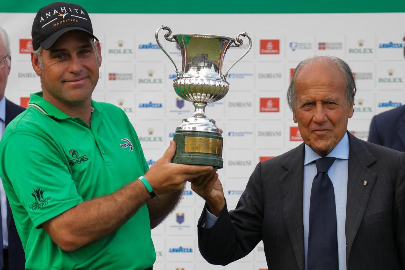 Open Italia di Golf 2014 a Otto, Francesco Molinari 18esimo