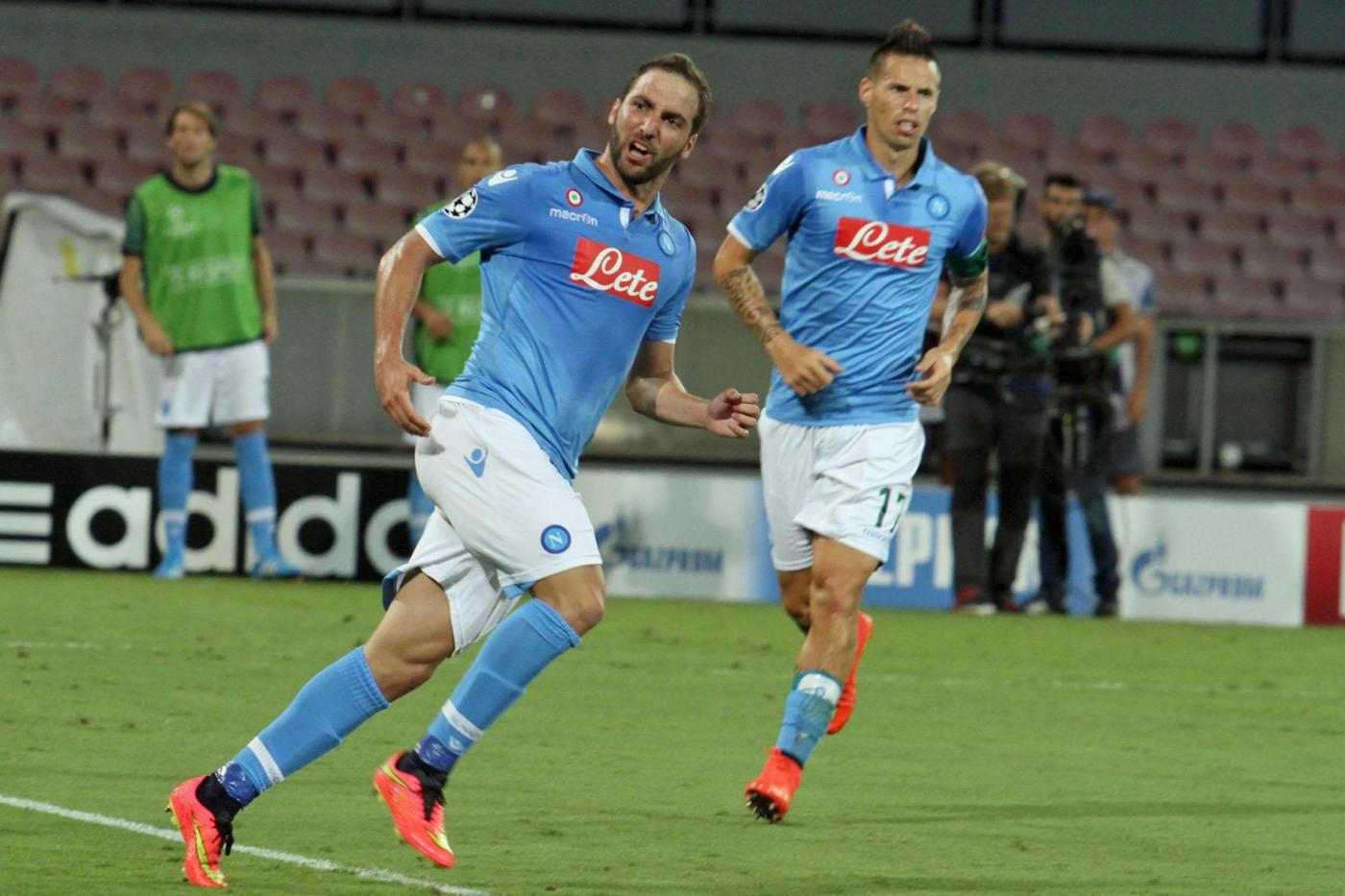 Napoli vs Atletic Bilbao 1-1: Higuain tiene vive le speranze