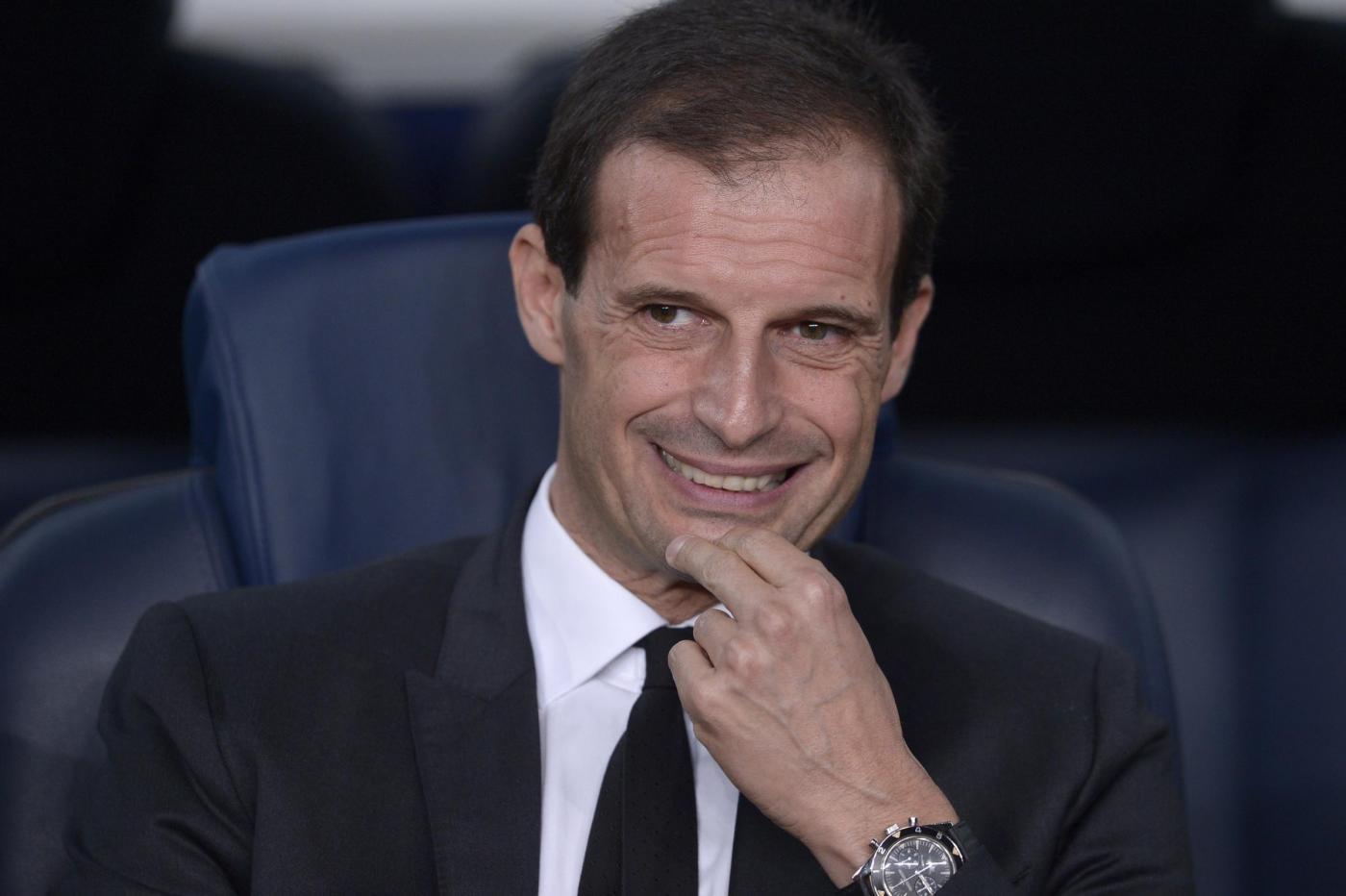 Juventus Allegri Trofeo TIM