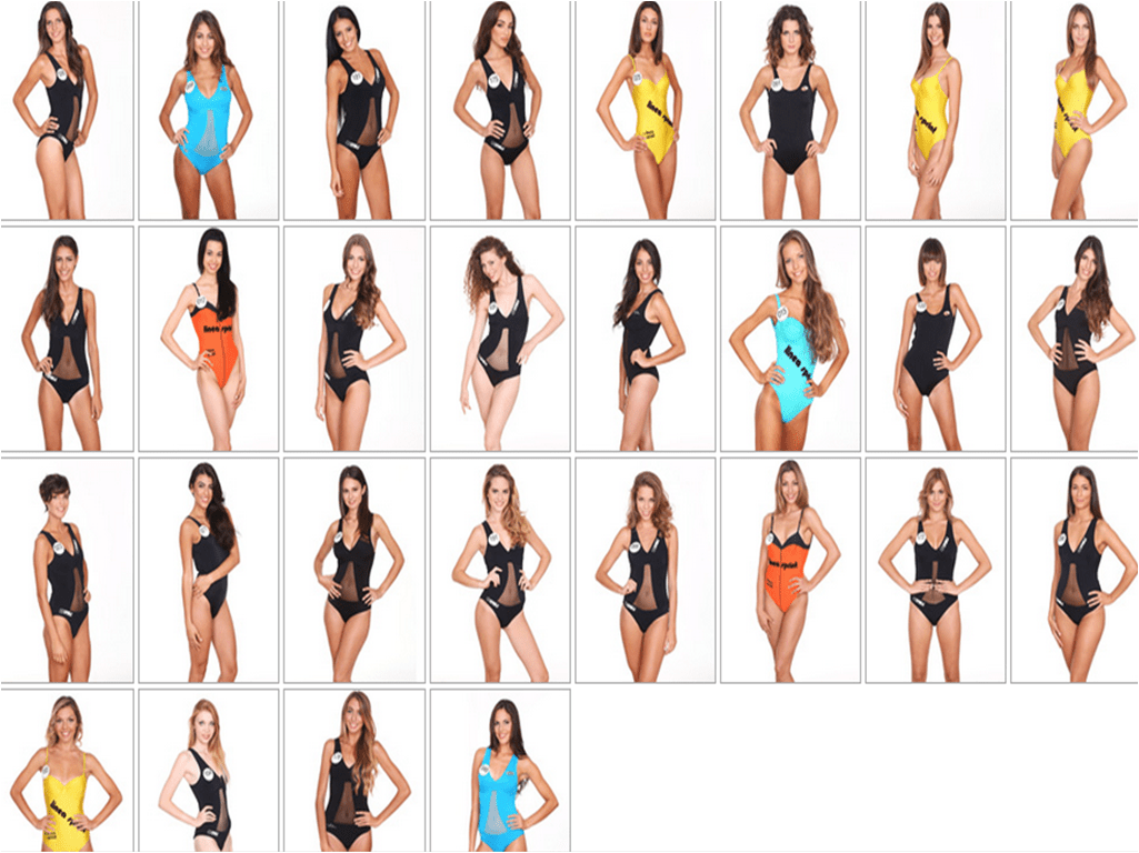 Miss Italia 2014, le 24 finaliste: nomi e foto delle aspiranti reginette di bellezza