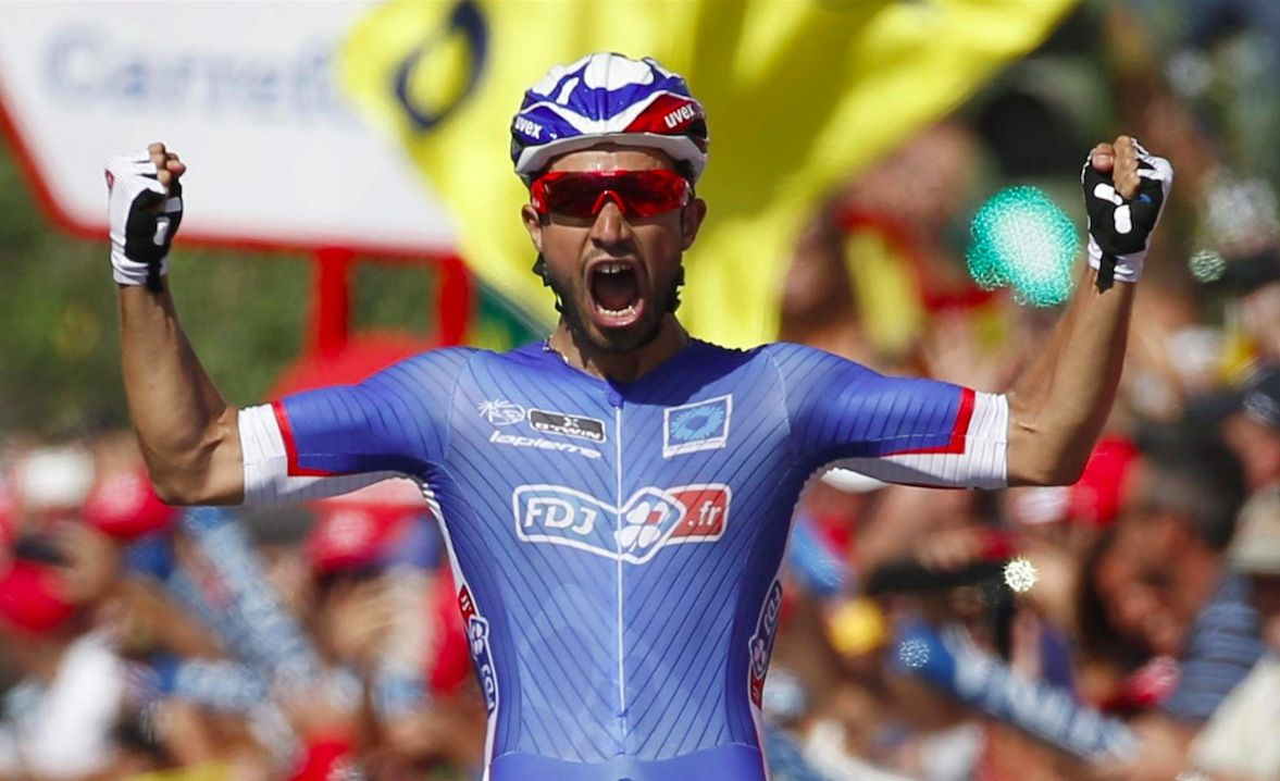 Nacer Bouhanni Vuelta 2014