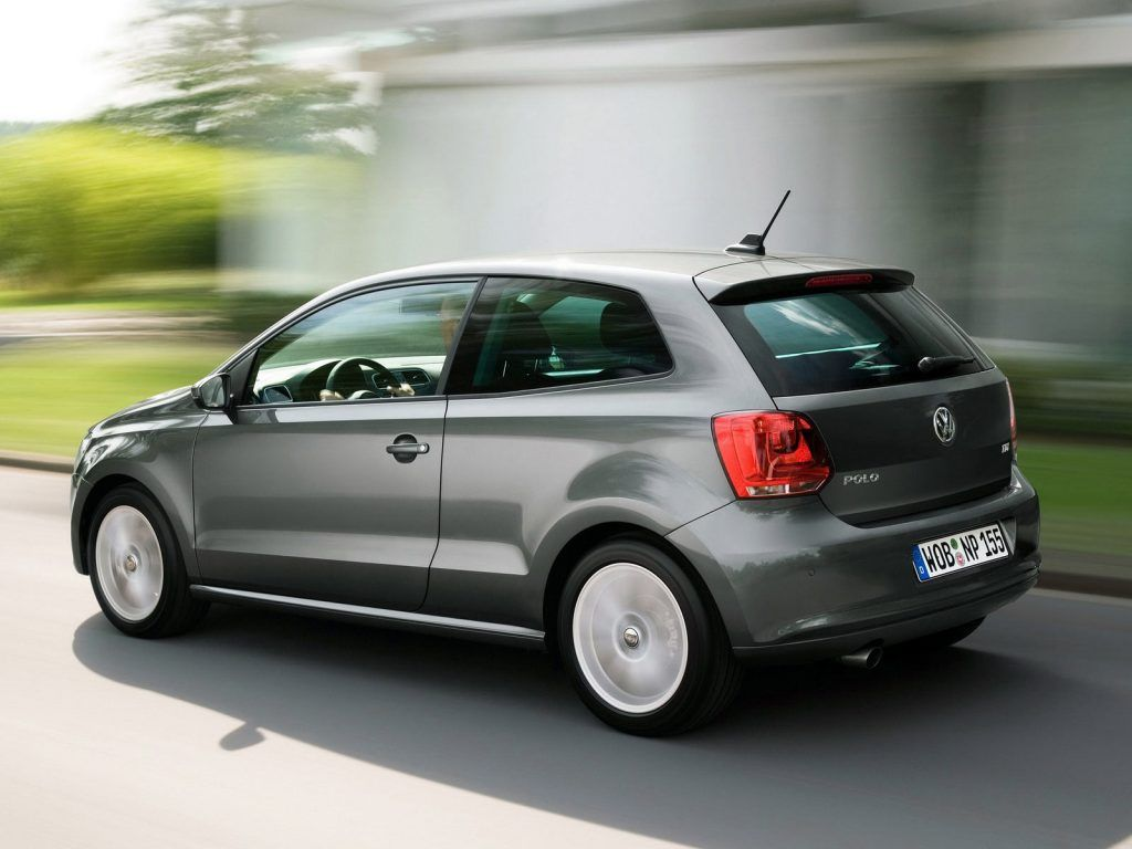 Volkswagen Polo in movimento 1024x768