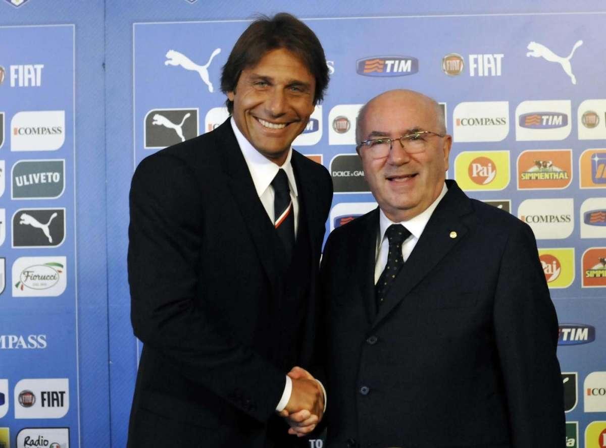 """Tavecchio: """"Conte è il migliore allenatore d'Europa"""""""