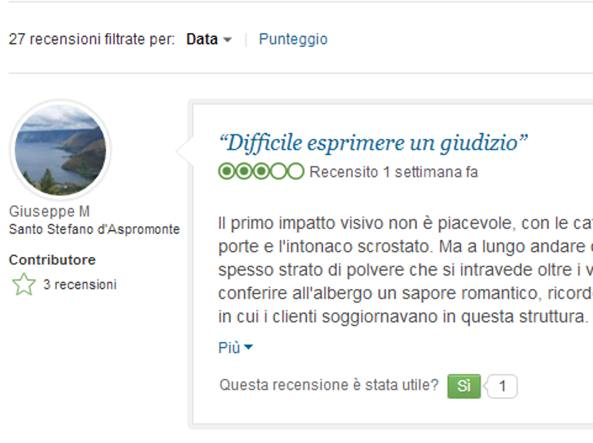 Tripadvisor, recensioni false e concorrenza sleale: attenti alle bufale