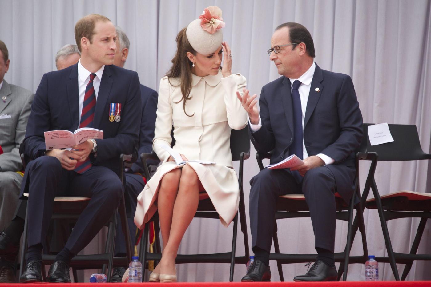 Kate Middleton: Hollande sensibile alla bellezza della duchessa